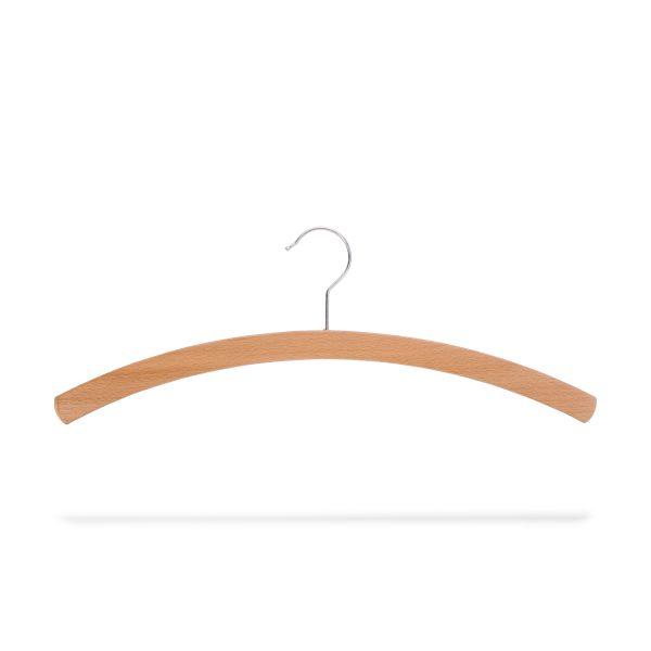 Kleiderbügel aus Holz, platzparend