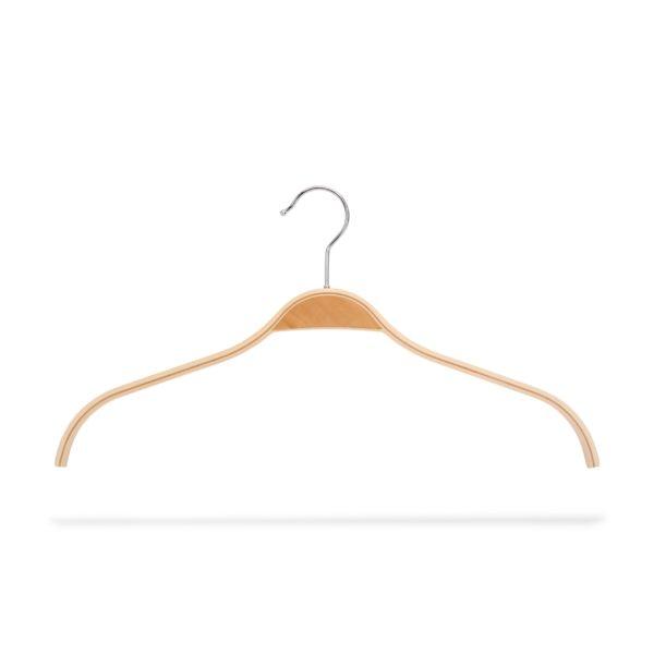 Kleiderbügel aus Schichtholz