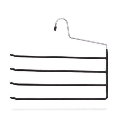 Weber Metall-Hosenbügel rutschfest beschichtet für 4 Hosen
