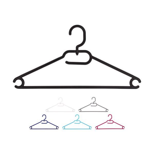 Kleiderbügel aus Kunststoff, viele Farben